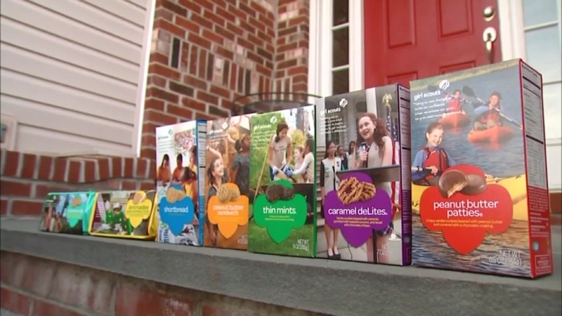 Crook uses counterfeit money to buy Girl Scout cookies