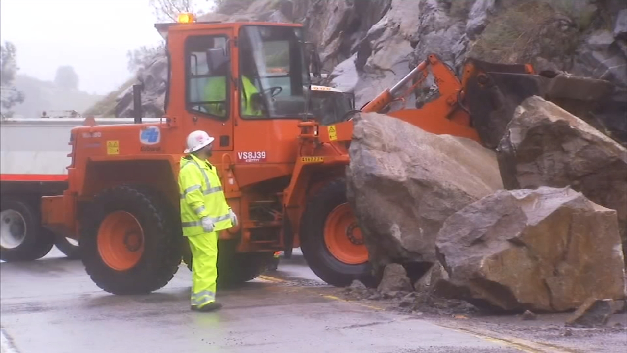 Highway 41 reopens after Madera County rock slide | abc30 com