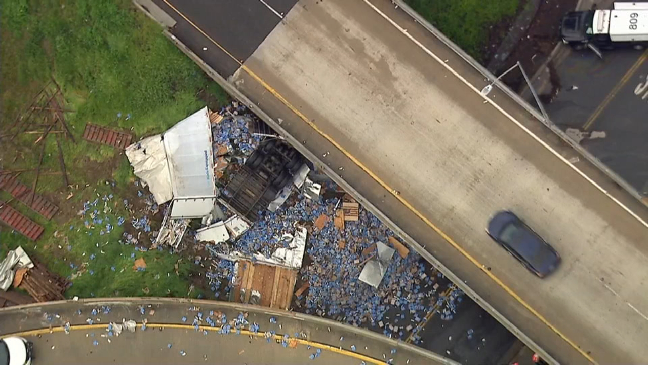 Semi crash | abc7chicago com