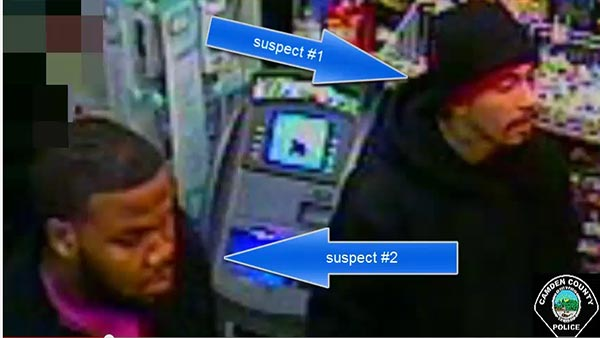 2 suspects sought for armed robbery in Camden