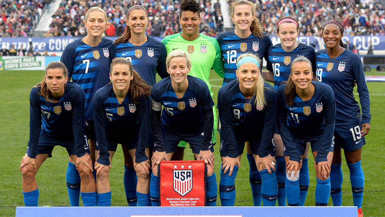 Women's national soccer team players sue for equitable pay ...