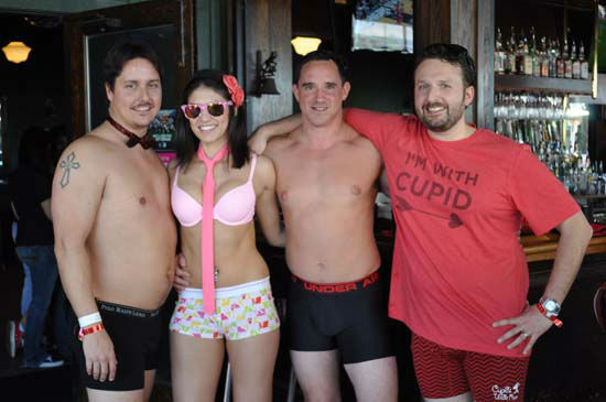 "<div class=""meta image-caption""><div class=""origin-logo origin-image none""><span>none</span></div><span class=""caption-text"">This Valentine's Day runners spread the love in just their underpants for the Cupid's Undie Run to benefit the Children's Tumor Foundation (KTRK Photo/ Amanda Cochran)</span></div>"
