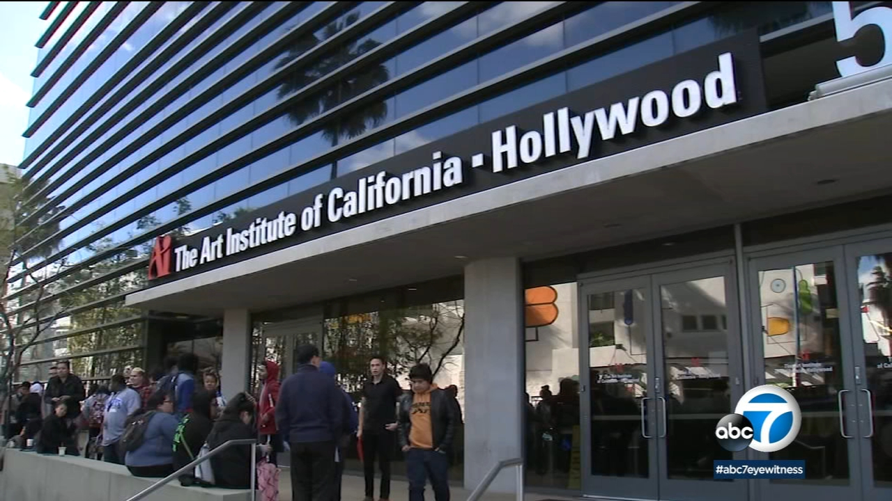 Students look for answers after Art Institute of California-Hollywood closes