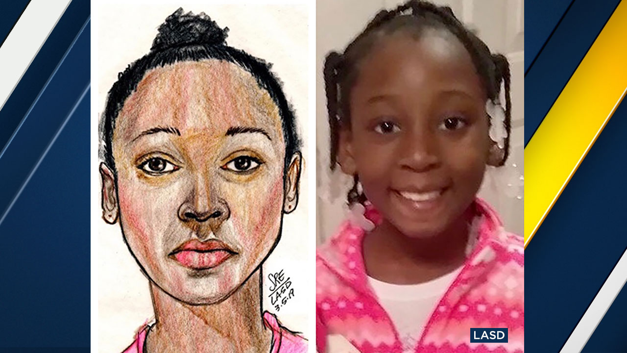Trinity Love Jones has been identified as the girl portrayed in a sketch after her body was found near a hiking trail in Hacienda Heights.