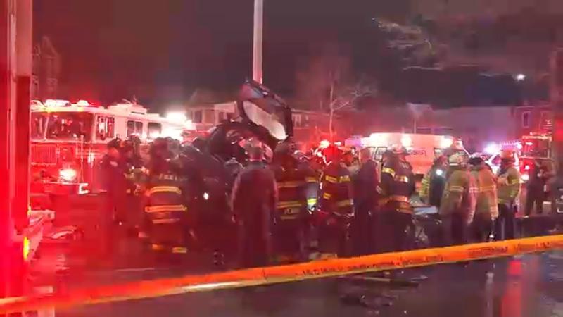 1 Dead 1 Critical After Car Overturns During Crash In East Flatbush