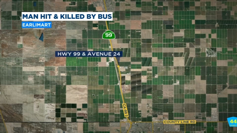 Man hit and killed by Greyhound bus on Highway 99 in Tulare County Visalia Greyhound Bus Map on greyhound locations by state, new jersey transit map, rail map, amtrak map, adirondack trailways map, nj transit map, eurostar map, greyhound routes, shinkansen map, caltrain map, tgv map, megabus map, stagecoach map, roadtrip map, lrt map,