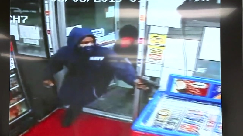 Investiators looking for suspects who gunned down a Shell store clerk