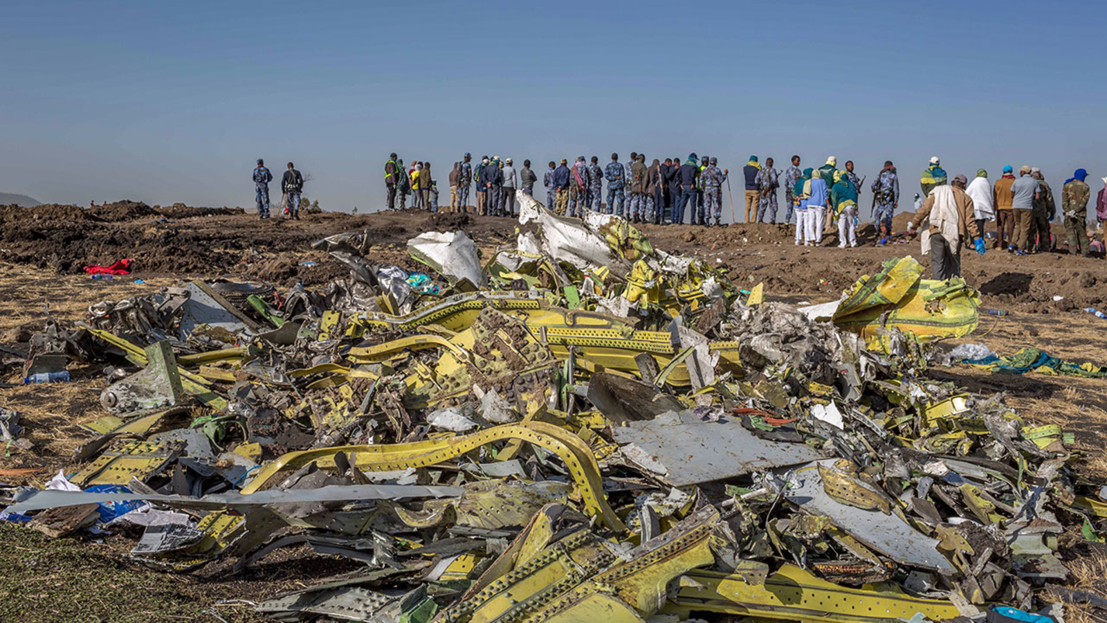 4bc95a7837d6 Ethiopian Airline crash  President Donald Trump grounds all Boeing 737 Max  planes
