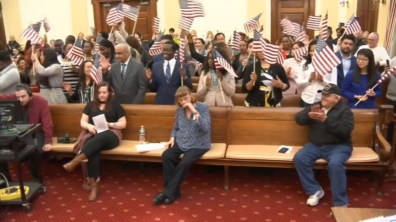 54 new citizens welcomed at naturalization ceremony in Delaware County