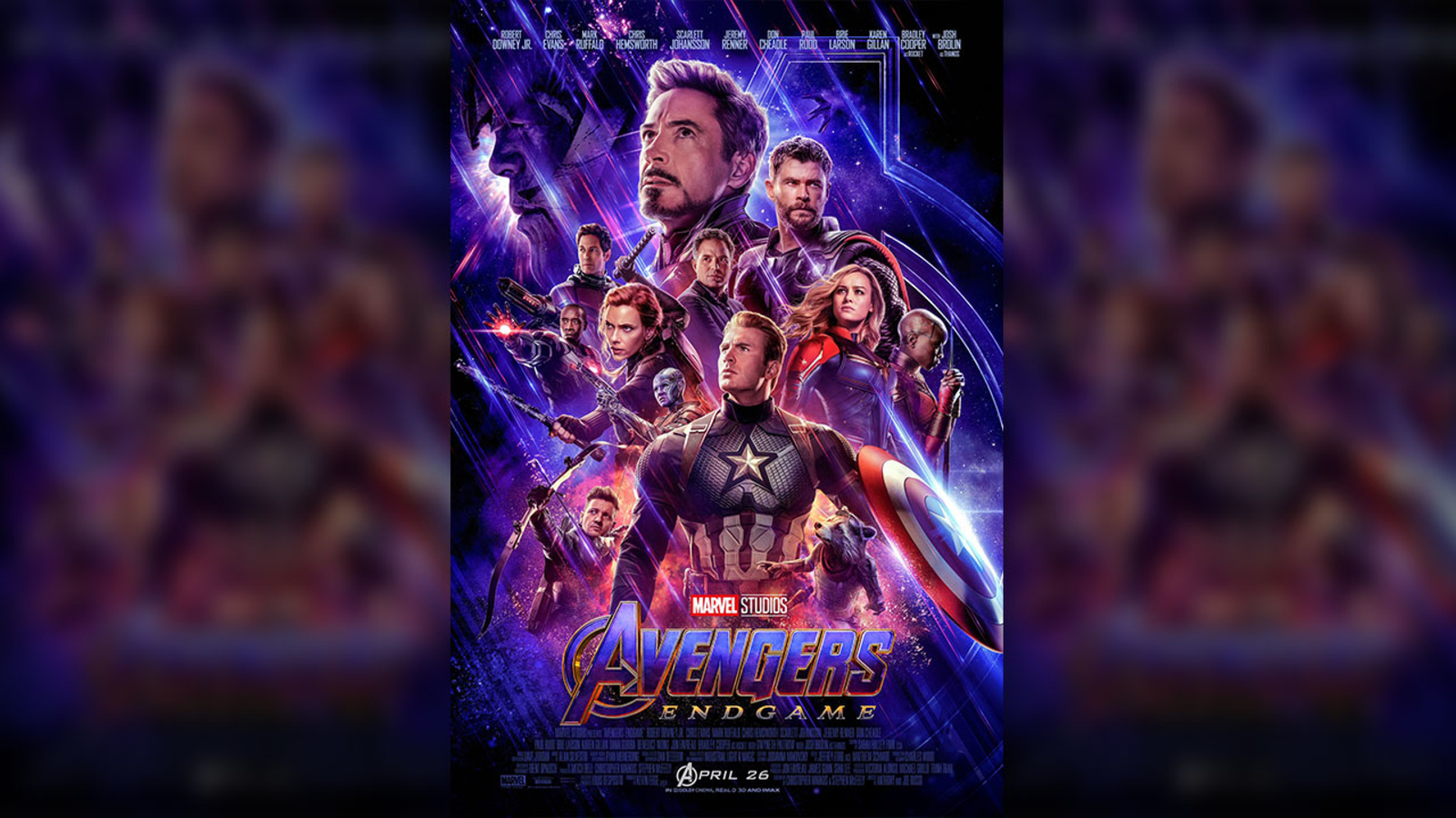 Avengers Endgame Gets New Trailer Poster Ahead Of Next Month S