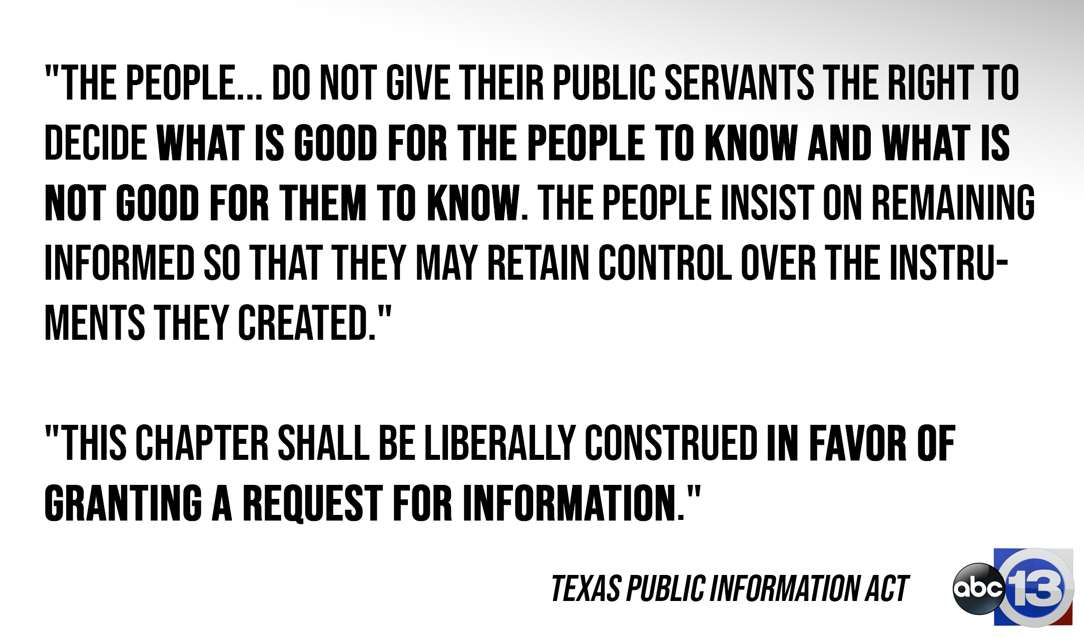 Analysis: Secrecy reigns in Texas as info requests almost