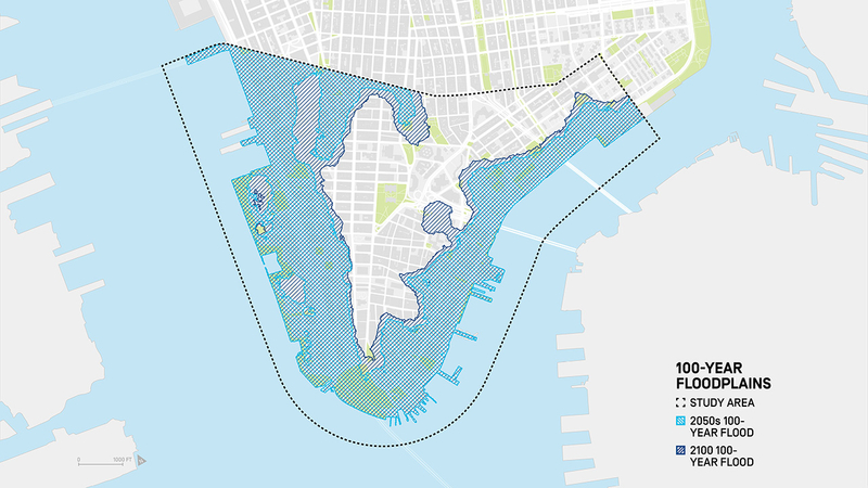 New York Subway Map 2100.New York City To Extend Part Of Shoreline By 2 Blocks To Combat Climate Change