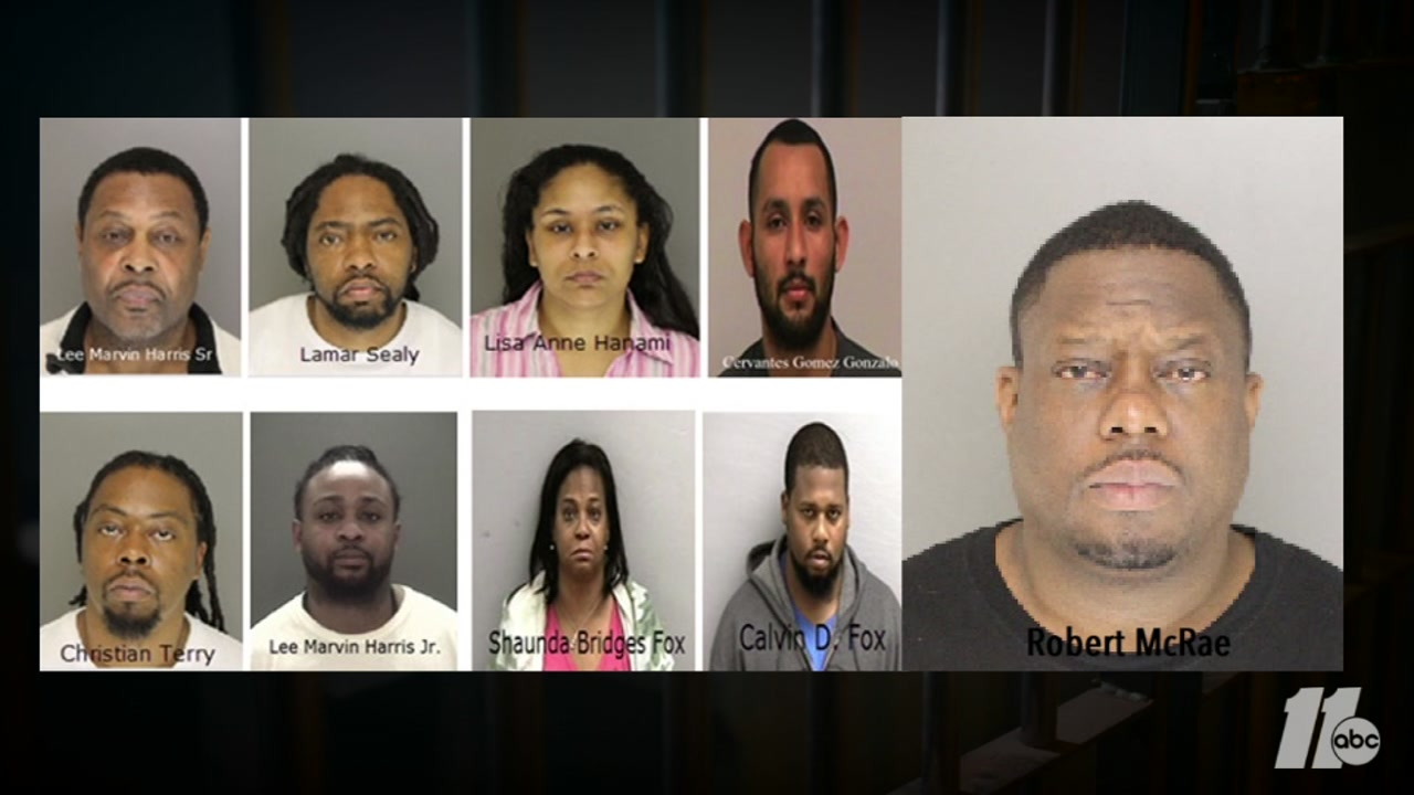 Drug Bust In Oxford Nc