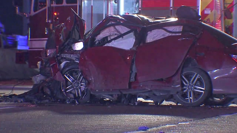 Double fatal accident in Pasadena on Highway 225 at Bearle Street