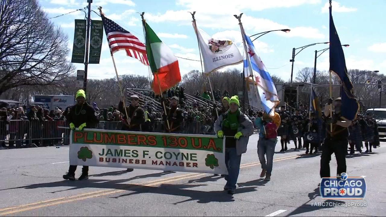 Abc7 Celebrates St Patricks Day With Parade Broadcast