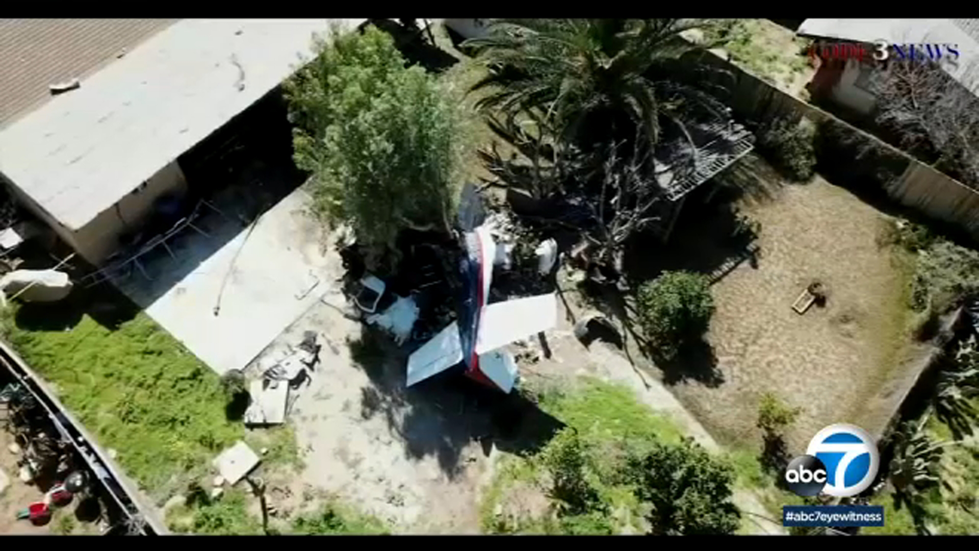1 dead in Riverside after small plane crashes