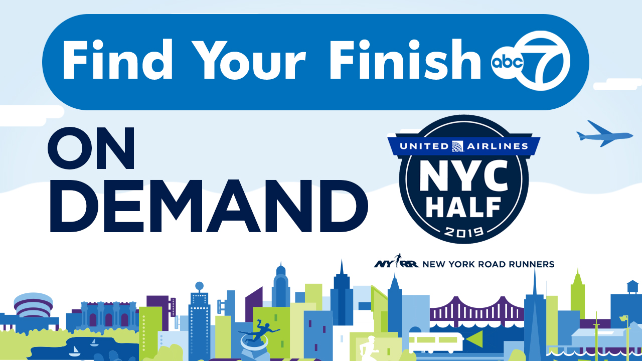 Find Your Finish: 2019 United Airlines NYC Half