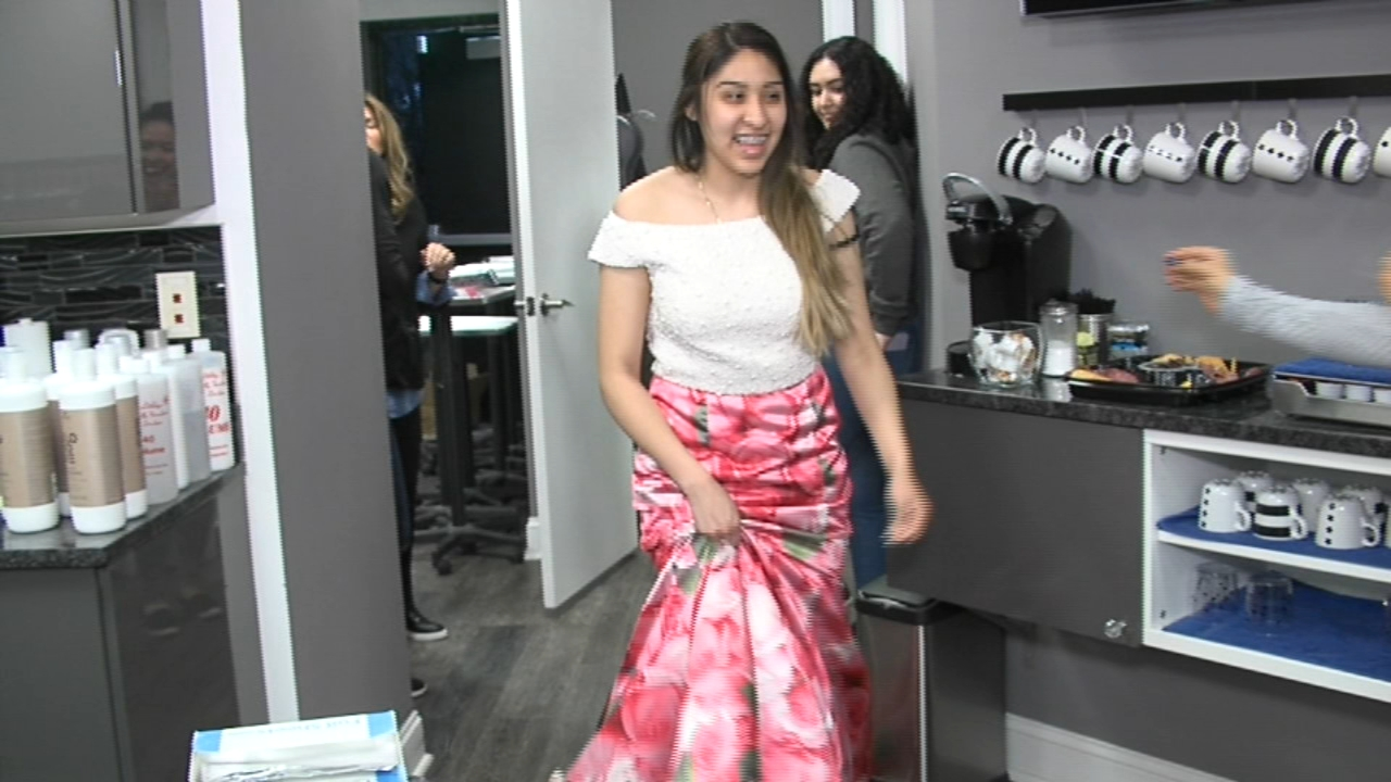 prom giveaway mora salon in cherry hill hosts prom dress giveaway 6abc com 4986