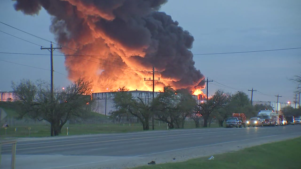 ITC DEER PARK FIRE: What we know about the chemicals burning in the