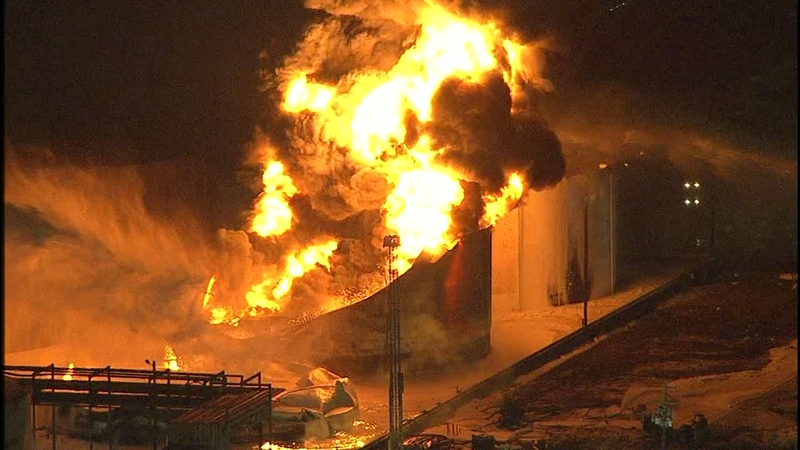 Deer Park Fire: 4 tanks still burning as smoke lifts from ITC for 3rd day