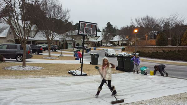 """<div class=""""meta image-caption""""><div class=""""origin-logo origin-image none""""><span>none</span></div><span class=""""caption-text"""">These helpful kids are eager to clear their driveways! (WTVD Photo/ ABC11 Eyewitness)</span></div>"""
