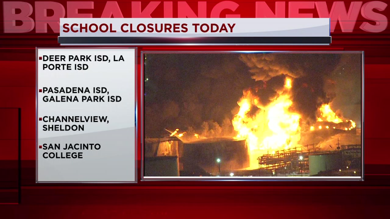 ITC CHEMICAL FIRE: Schools cancel some weekend activities