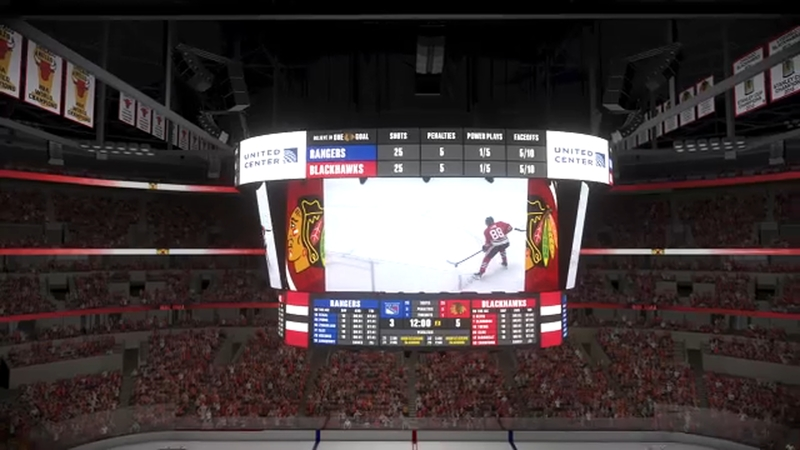 United Center getting new scoreboard