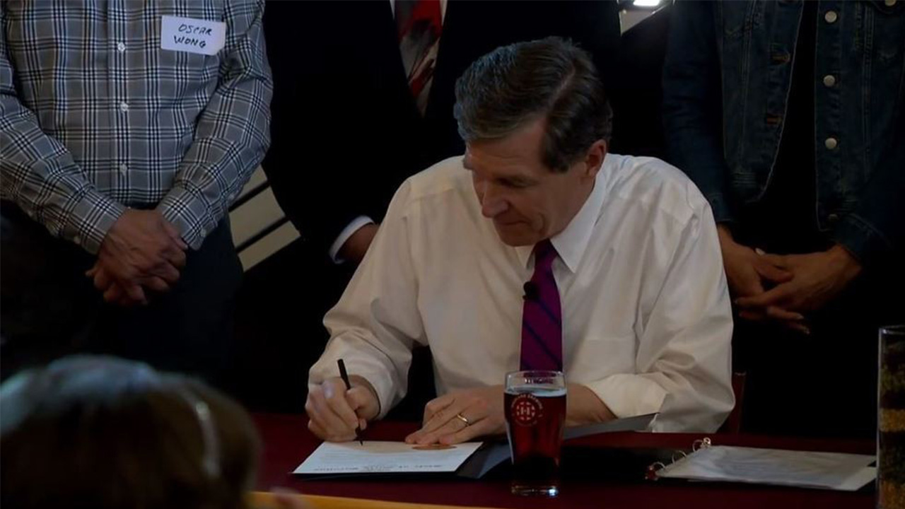 Governor Roy Cooper declares April as NC Beer Month