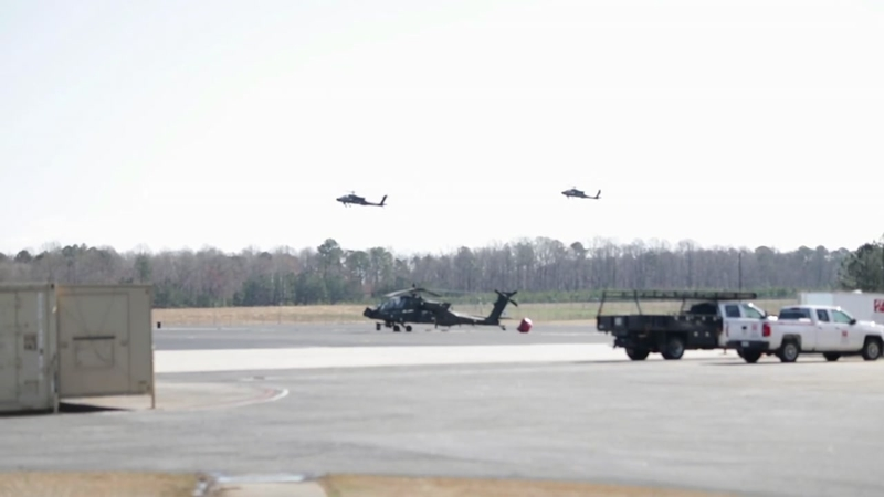 Helicopter battalion returns to NC following year-long Afghanistan  deployment