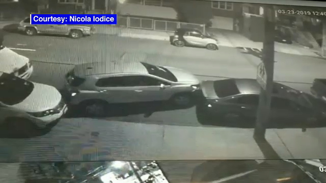 14 cars smashed after 2 recycling crew coworkers in the Bronx get into fight