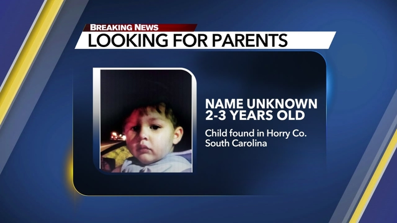 Authorities looking for parents of child found in Horry County, SC