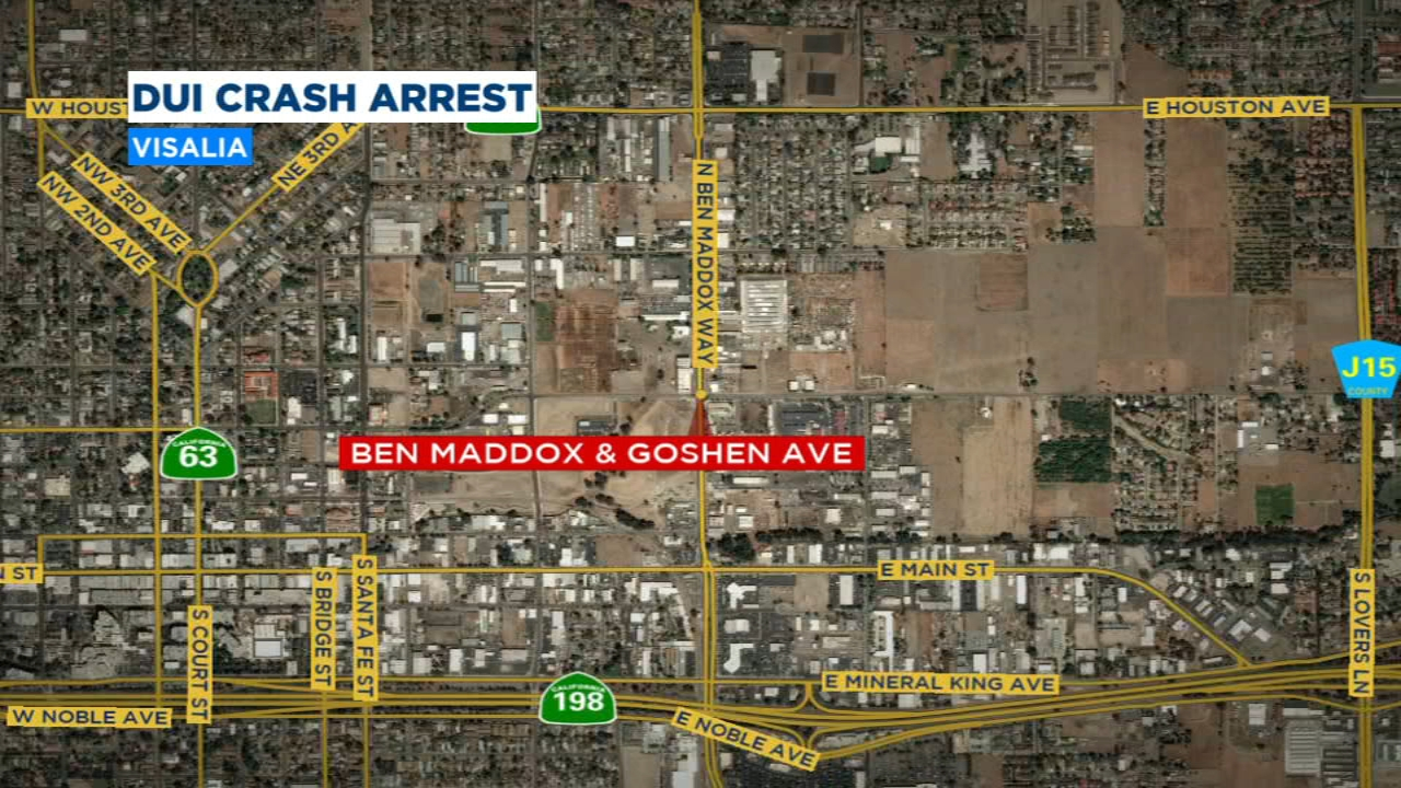 Family rear-ended by DUI driver in Visalia