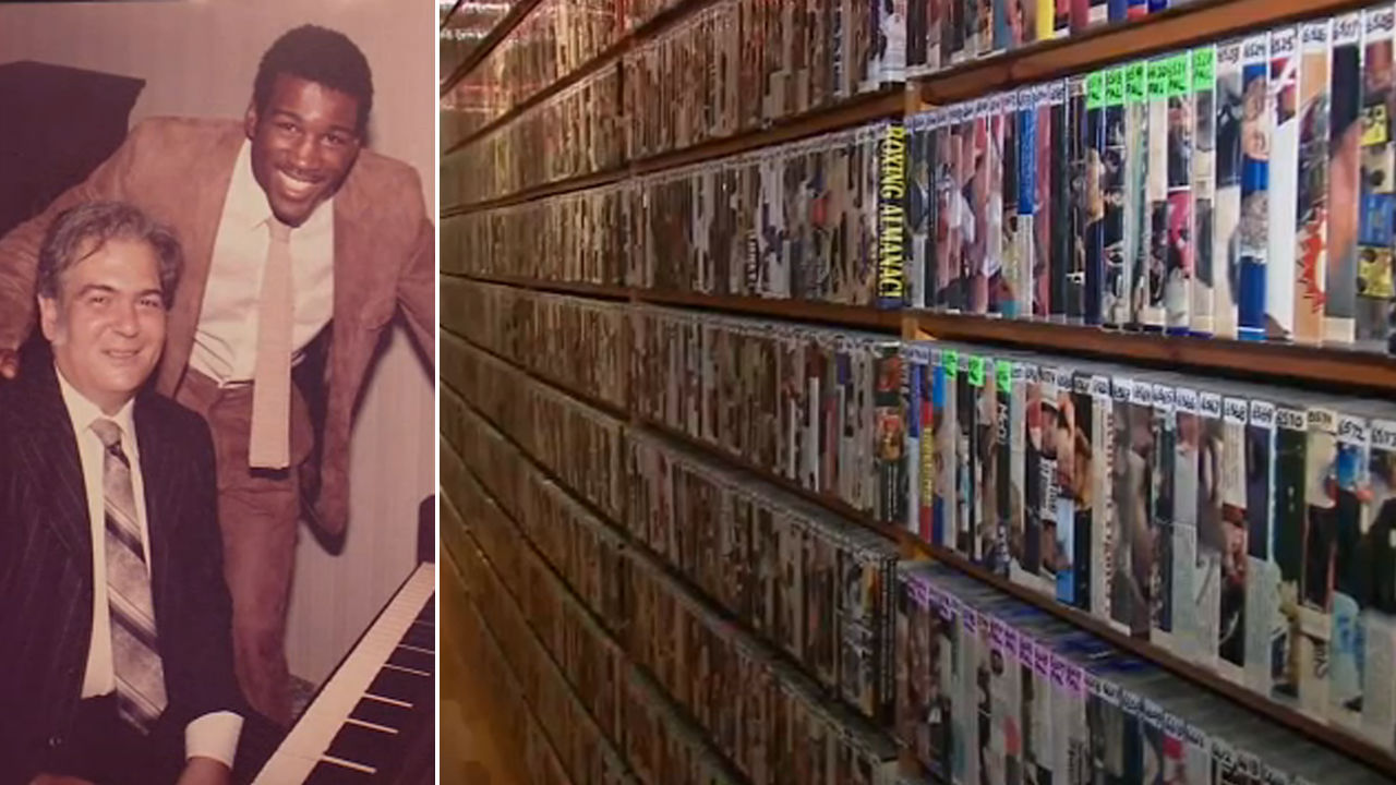 NYC widow searching for new home for late husband's collection of boxing  tapes, DVDs