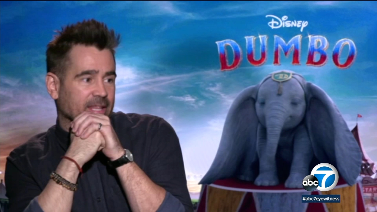 Colin Farrell sees new film 'Dumbo' as story that celebrates inclusion