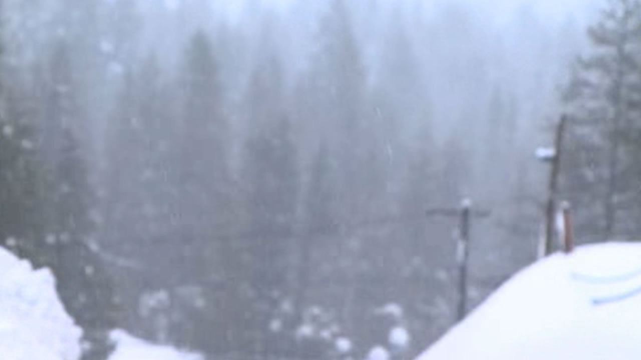 The Sierra is getting lots of new snow, here's when you