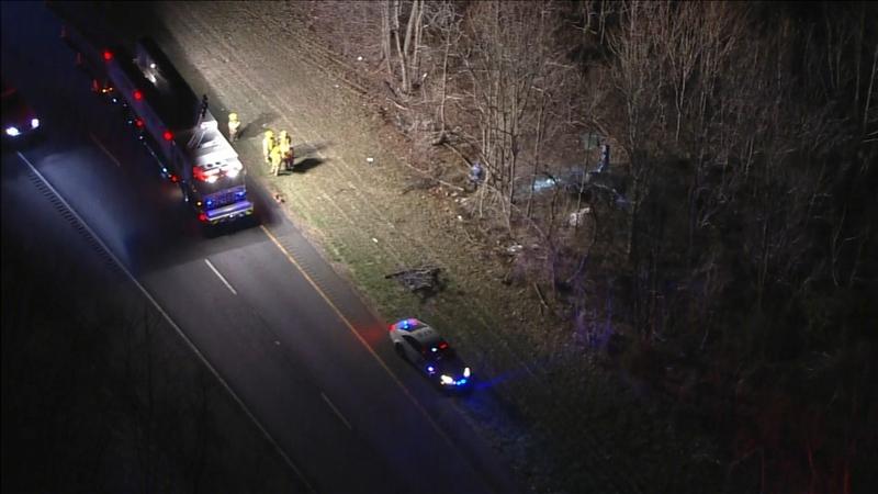 1 dead after crash on Rt  55 in Deptford Township