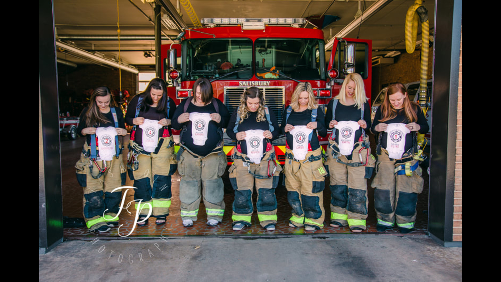74d61a54 North Carolina fire department expecting 7 babies | abc7news.com
