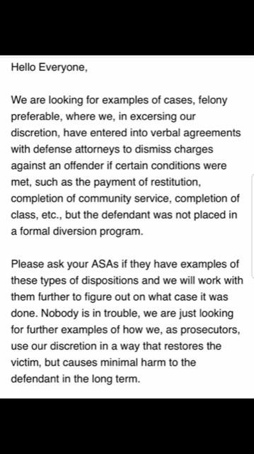 The email, confirmed by the I-Team, asked Cook County prosecutors for examples of cases like where charges were dropped under circumstances similar to Smollett's.