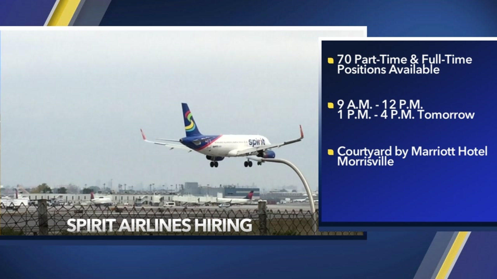 Spirit Airlines Holds Job Fair Ahead Of Rdu Launch
