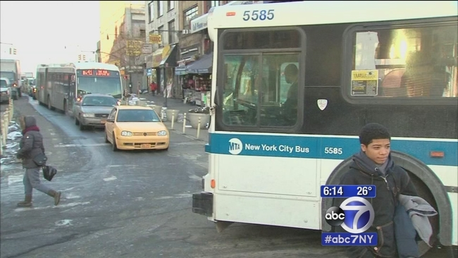 After Pedestrian Incidents Mta Bus Drivers Believe They Are