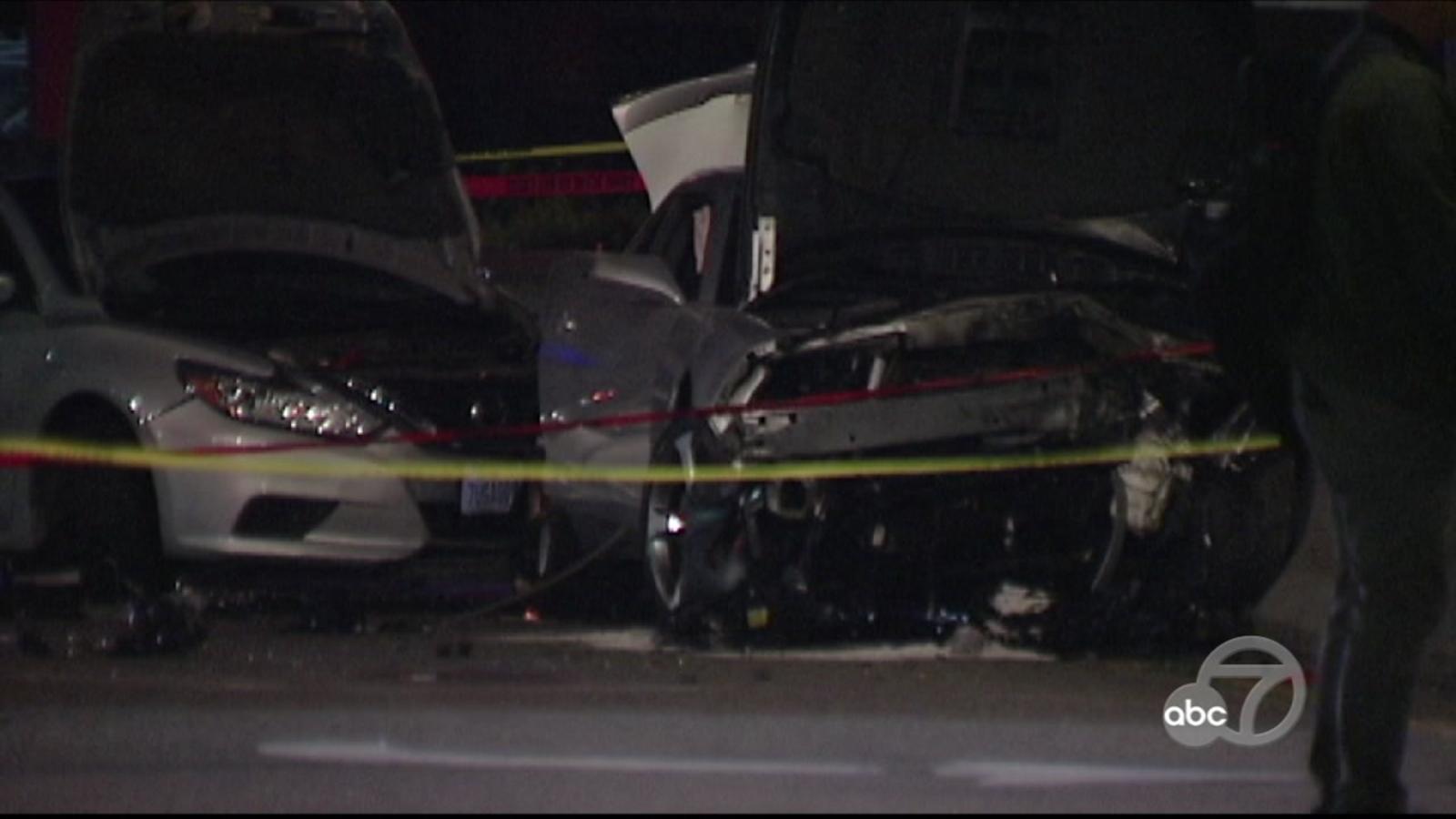 1 dead, 1 injured after car crash in San Francisco's Potrero Hill