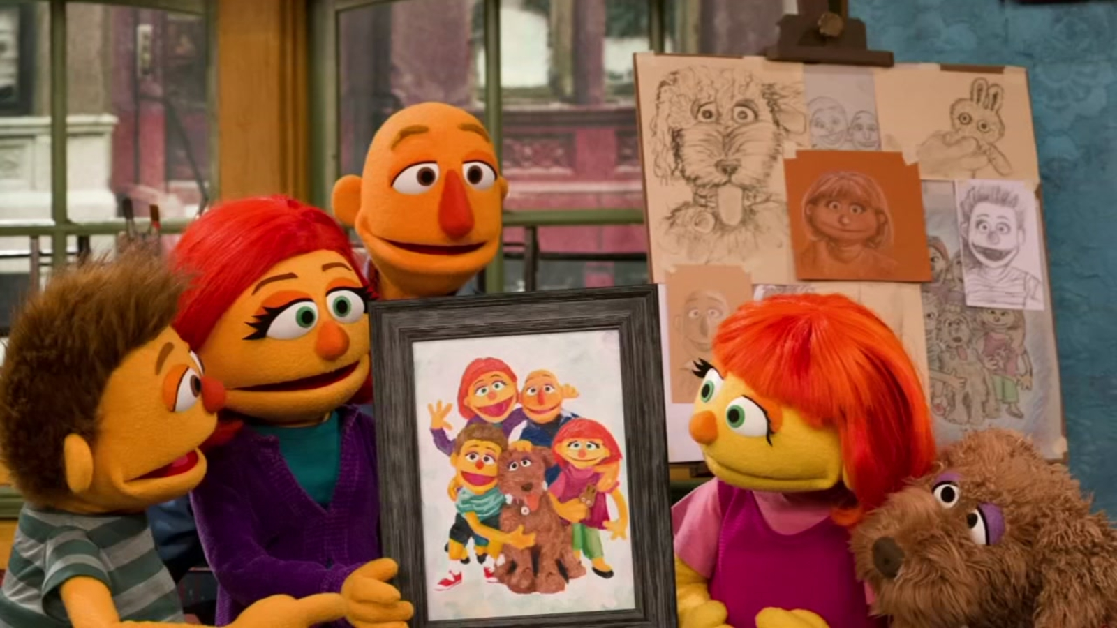 It is an image of Soft Sesame Street Images