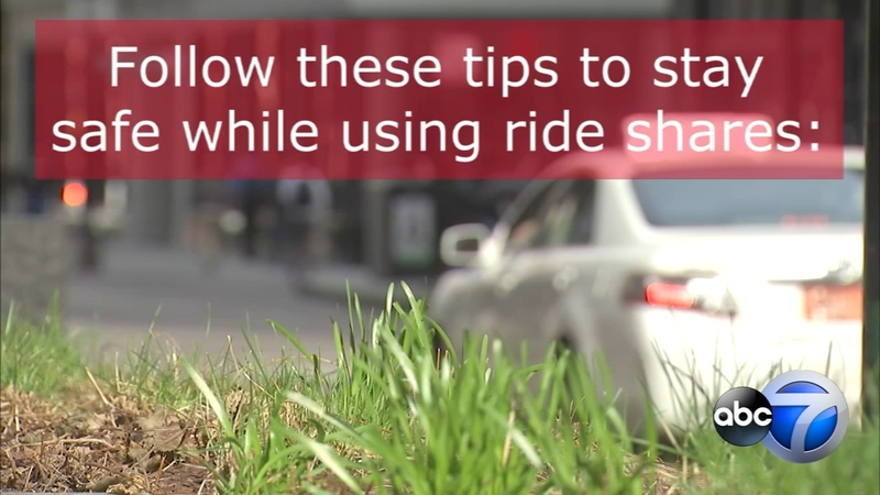 Uber, Lyft rideshare safety tips