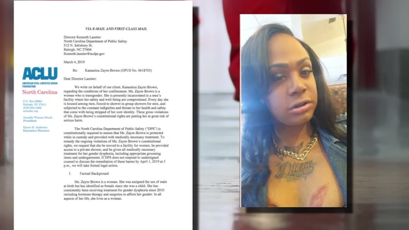 Transgender inmate moved, but not to women's prison