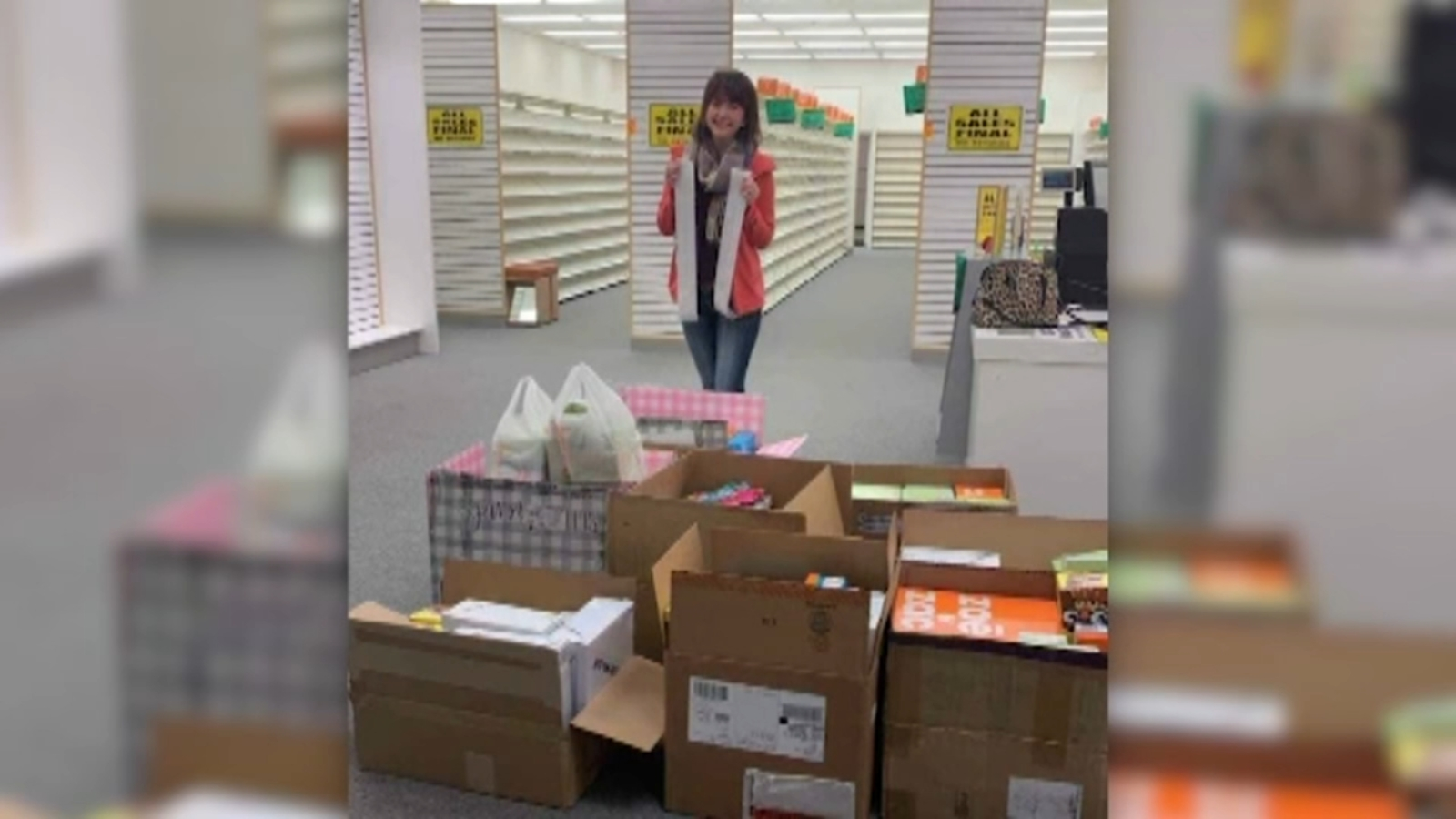 cfd26581c0c Kansas woman buys out entire Payless ShoeSource store to donate to flood  victims in Nebraska