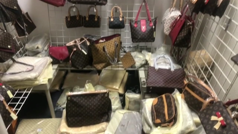Father and son arrested in federal designer fakes bust