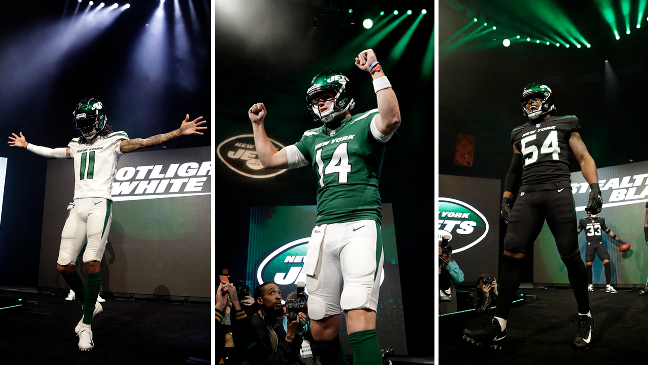 627409abd New York Jets unveil new uniforms for the 2019 season