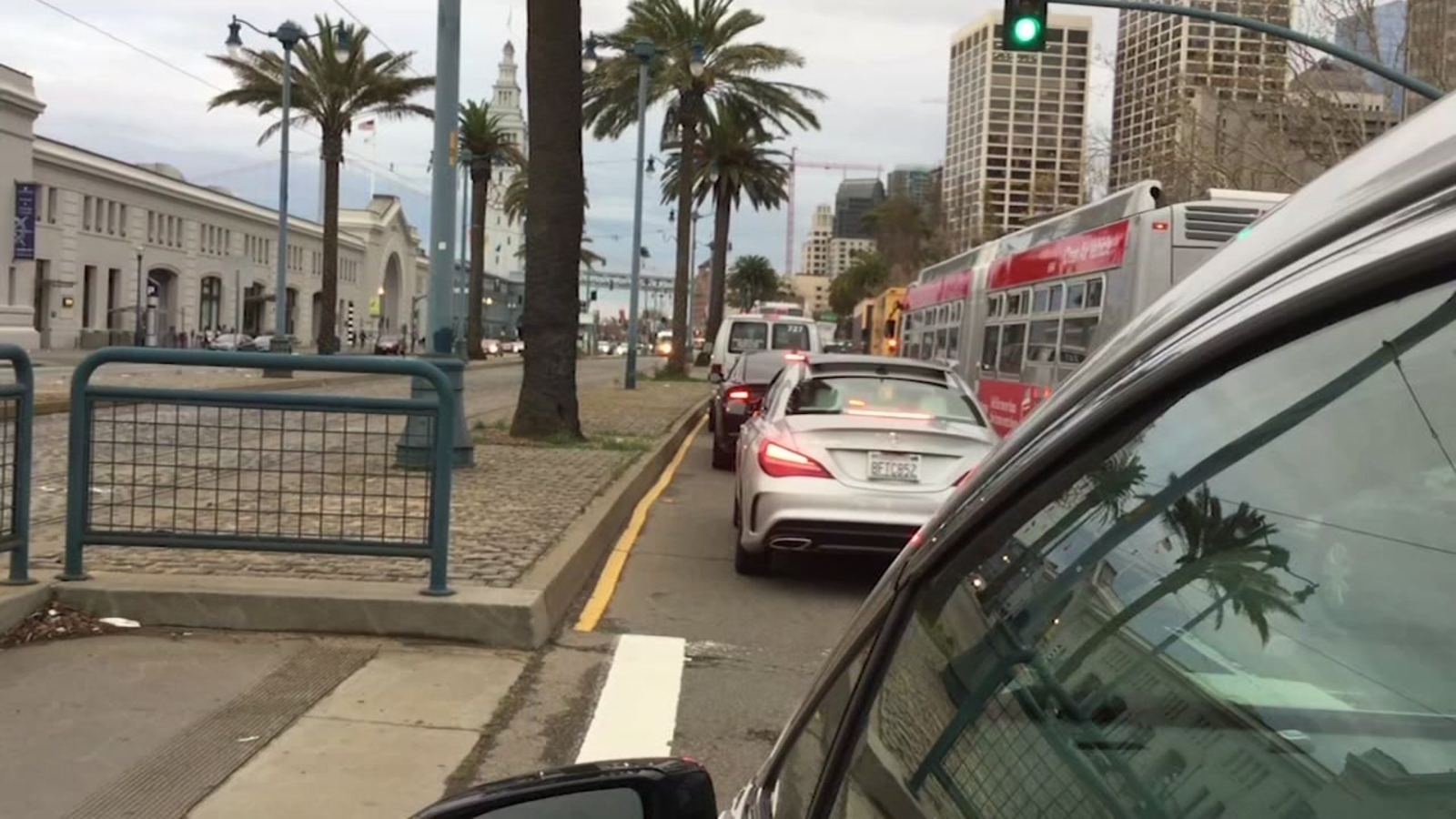 Solutions to ridesharing congestion in the works in Downtown San Francisco