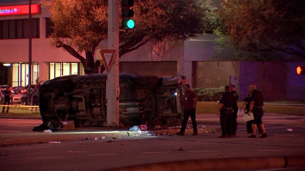 1 person killed in multi-vehicle crash in north Houston - KTRK-TV
