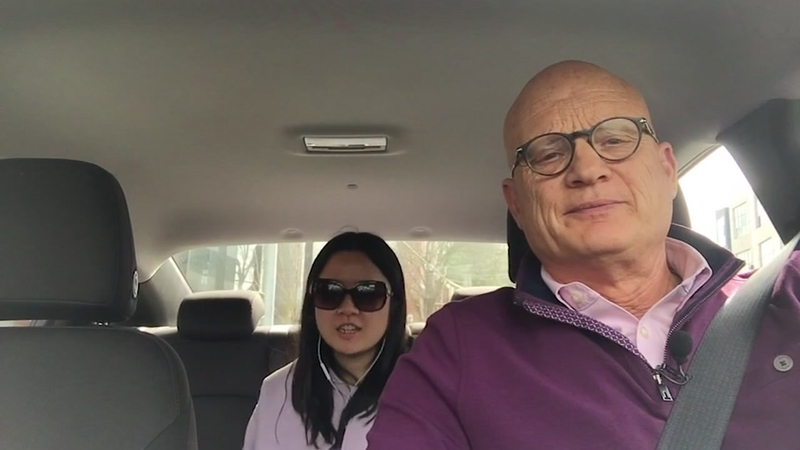 ABC7's Wayne Freedman spends day as a Lyft driver